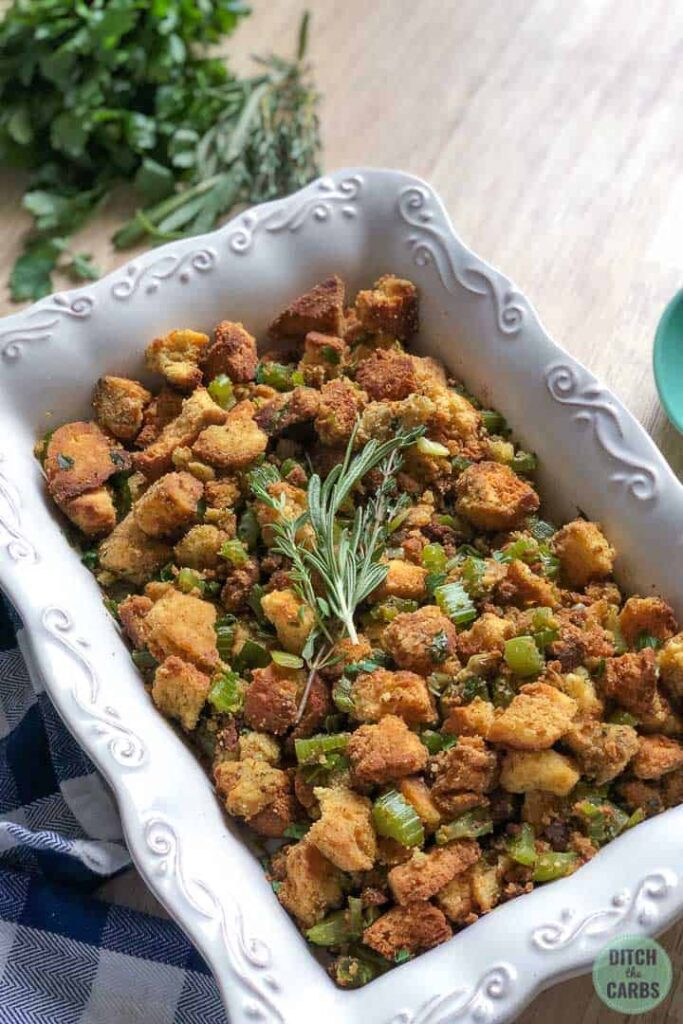 cornbread and celery stuffing