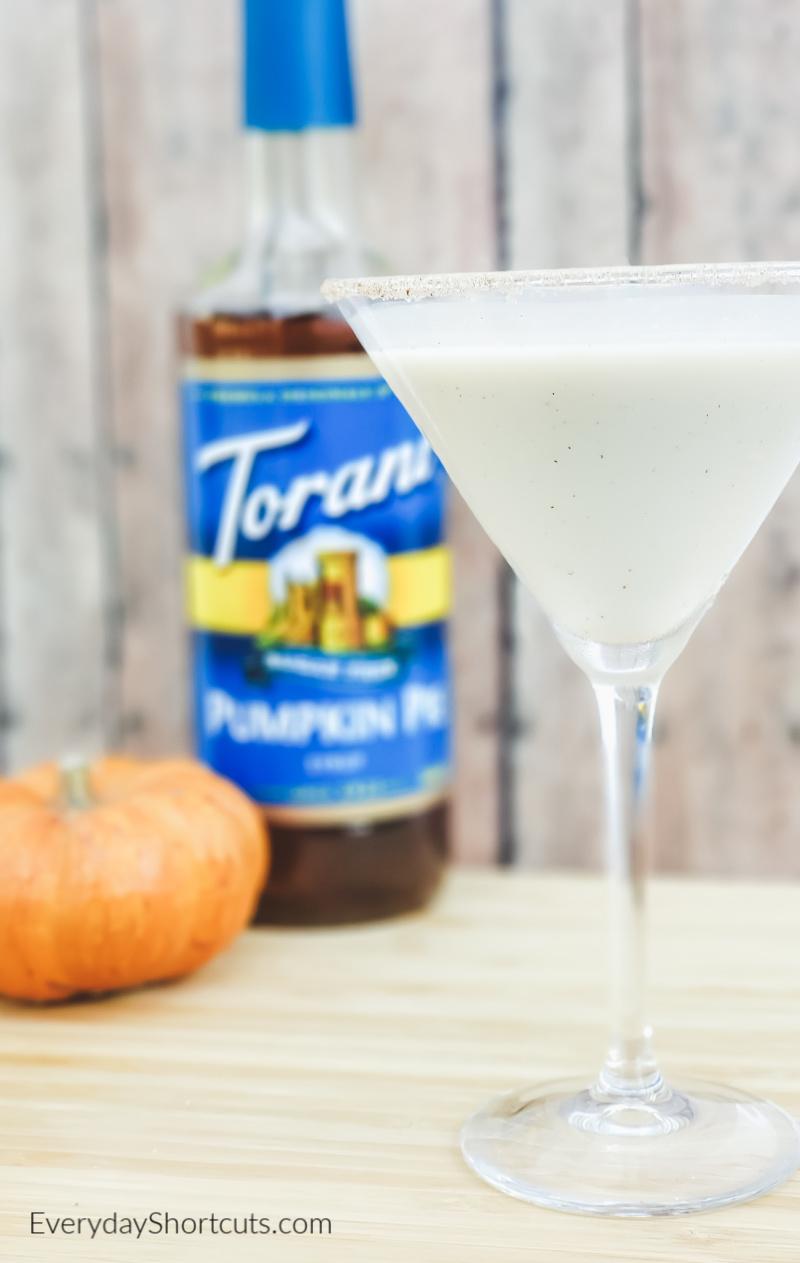 low carb pumpkin pie martini