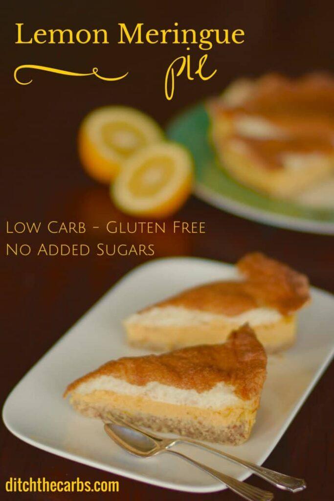 low carb lemon pie