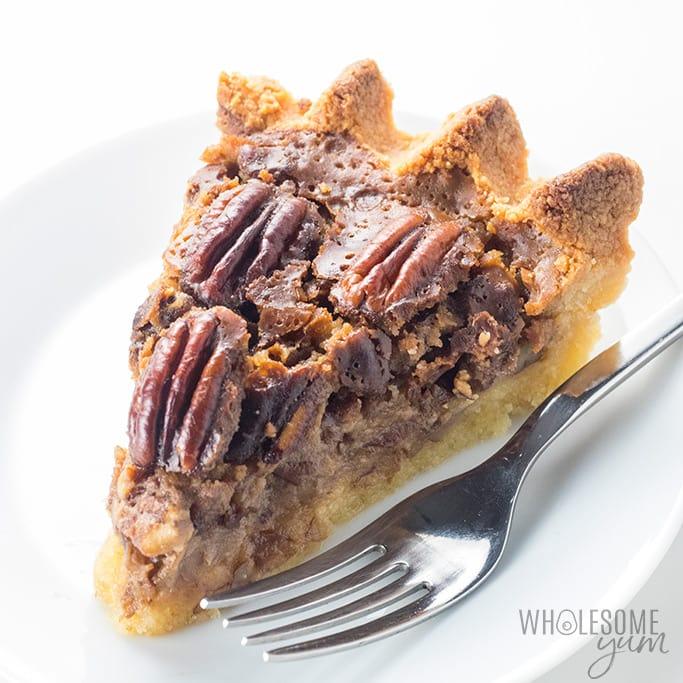 keto friendly pecan pie